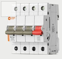 Triple Pole With Neutral Miniature Circuit Breaker