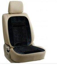 Car Wooden Bead Seat Cushion With Black Velvet