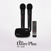 New Dzire Plus Cordless Karaoke System