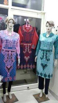 Designer Woolen Kurtis
