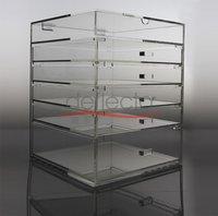 6 Tiers Clear Acrylic Storage Organizer