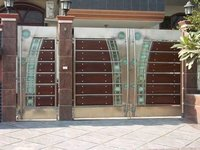 Stainless Steel Mall Gate