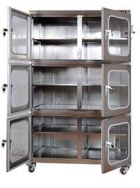 Desiccant Nitrogen Dry Box Rustproof Floor Standing, Dehumidification
