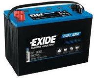 Exide Battery Dual AGM