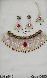 AD Choker Necklace