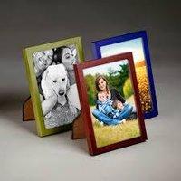 Durable Glass Wood Photo Frames