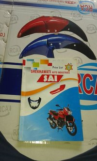 Motorcycle Back and Front Mudguard