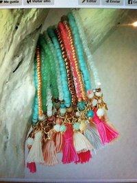 multicolour Beaded Bracelets
