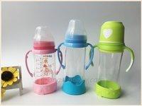 Anti-Drop Glass Feeding Bottle