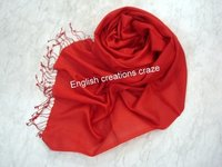 Polyester Solid Color Scarves