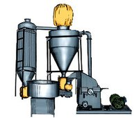 Automatic Suction Pulverize Machines