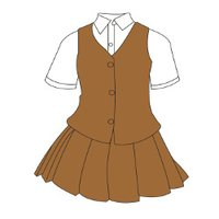 Cotton Fabric School Uniforms