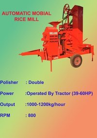 Automatic Mobile Rice Mill