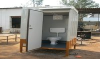 Prefabricated Portable Mobile Toilet