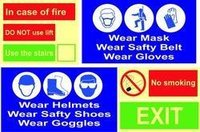 Fire and Safety Sign Board