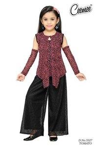 Fancy Designer Plazo Dress Set