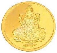 Laxmi Ji Gold Coin