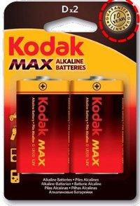 Kodak Max Alkaline Batteries