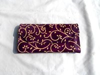 Embossed Leather Hand Purse