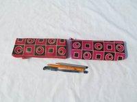 Durable Leather Pencil Case