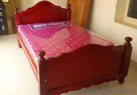 Double Cot Wooden Bed