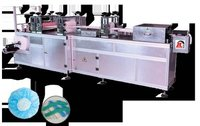 Kp 1004 Automatic Non Woven Bouffant Cap Making Machine