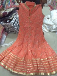 Cotton Frock Suit