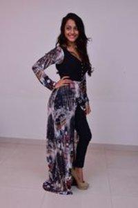 Black Shaded Indo Western Dress