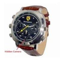 Spy Leather Wrist Watch Camera