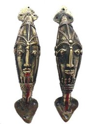 Dhokra Gift Items Door Handles