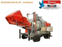 Mini Mobile Concrete Batching Plant (Reversible Mixer)