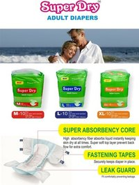 Super Dry Adult Diapers