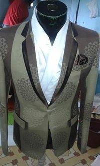 Hand Woven Solapur Aritsand Chadders Fabric Blazer