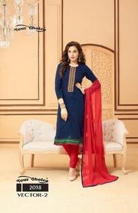 Designer Unstitched Ladies Salwar Kameez Fabrics