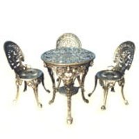 Cast Iron Tables And Chairs