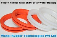 Silicon Rubber Ring For ETC Solar Water Heaters