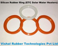 Silicon Rubber Ring For ETC Solar Water Heater Vacuum Tubes