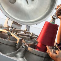 Spun Silk Yarn Dyed