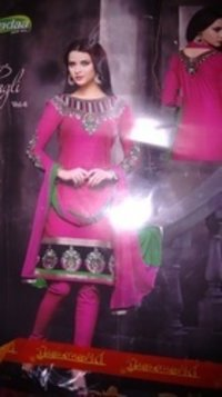 Ladies Excellent Embroidery Work Suits