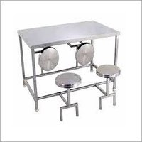 Stainless Steel Dining Hall Table