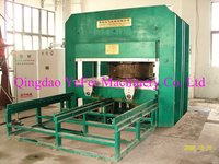 ISO Certification Large Plate Vulcanizing Machine