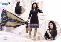 Fancy Ladies Unstitched Salwar Suits