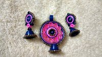 Quilled Artificial Earrings