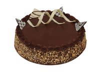 Choco-Walnut Crunch Cake