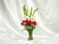 Romantic Flowers Vase