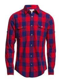 Men's Check Design Cotton Shirts