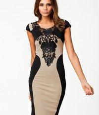 Classic Design Ladies Party Dress