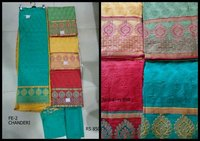 Chanderi Unstitch Suits