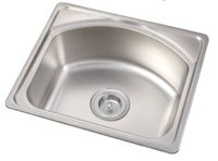 Stainless Steel Single Bowl Kitchen Sink (ON5043)