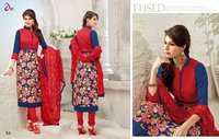 Dairy Milk-9 Ladies Chandwri Embroidery Suit